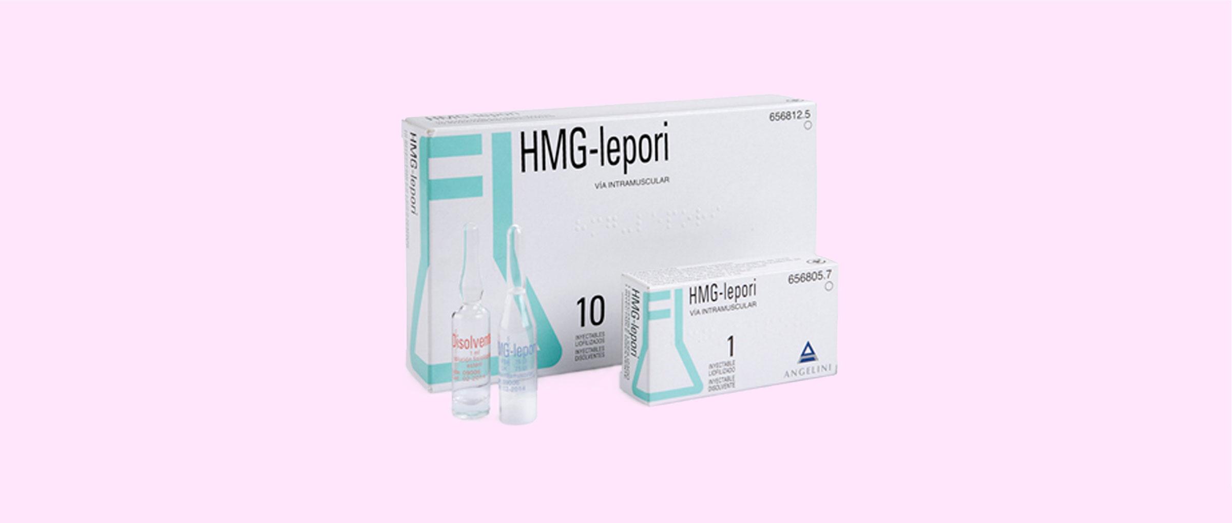 Presentación del medicamento hMG