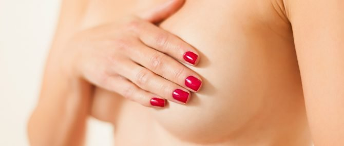 Imagen: Autoexploración de la mama