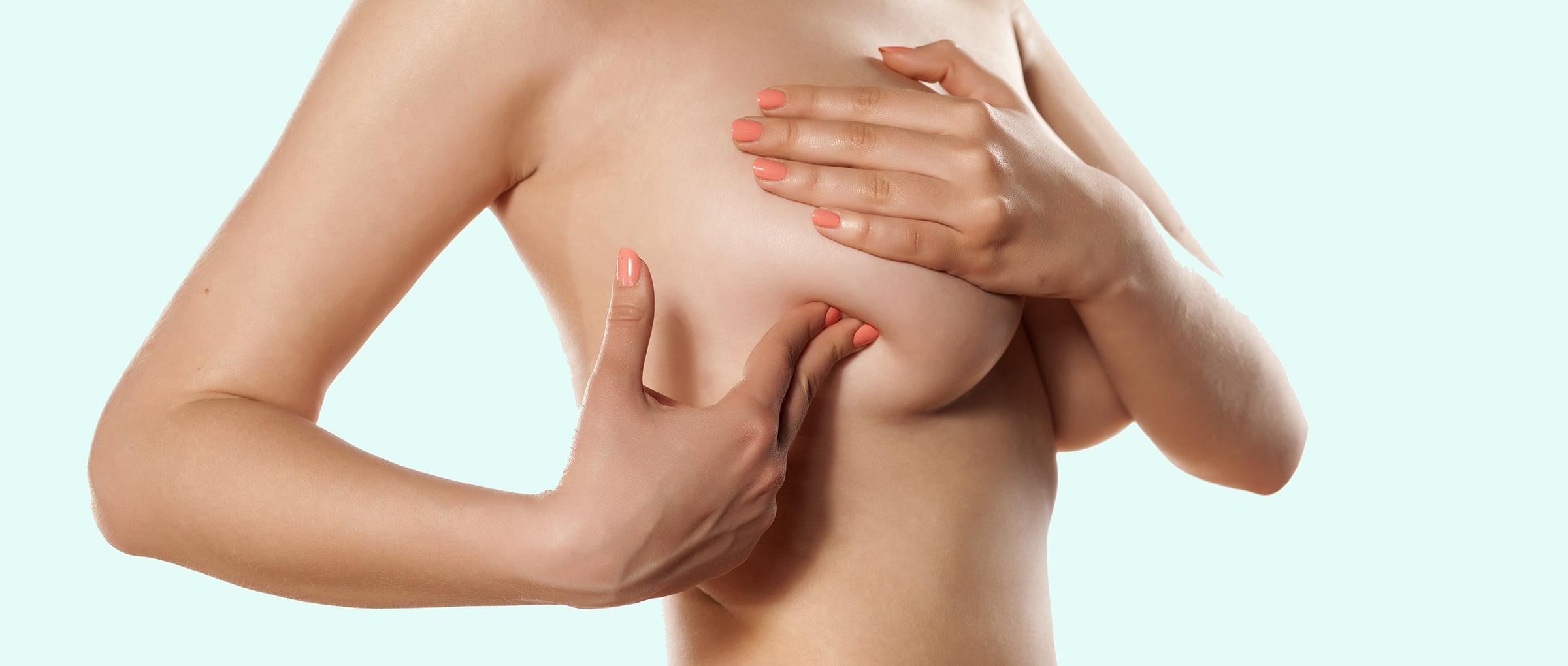 Palpación mamaria