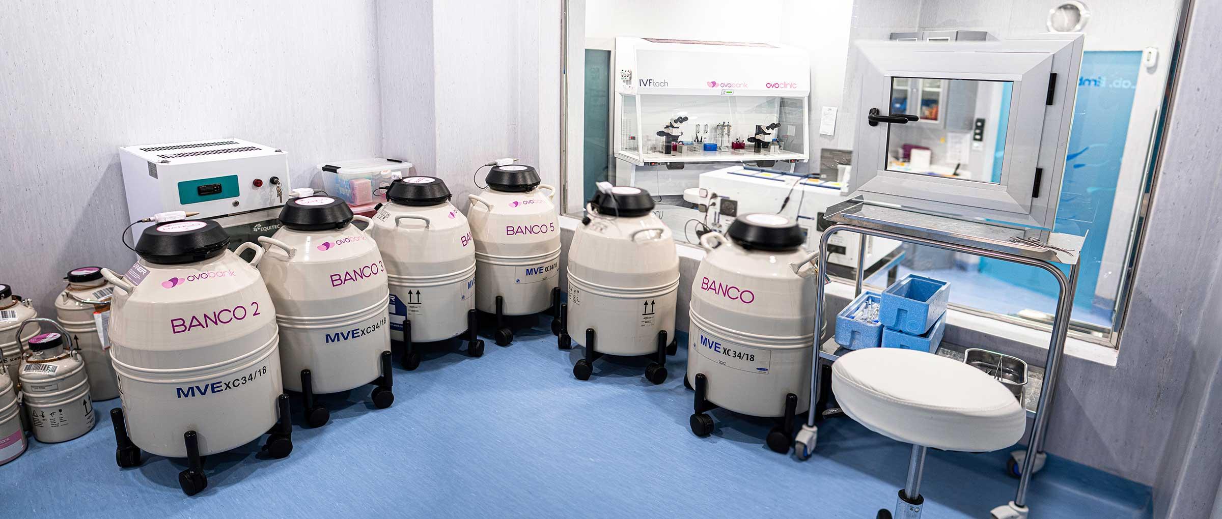 Tanques de nitrógeno líquido
