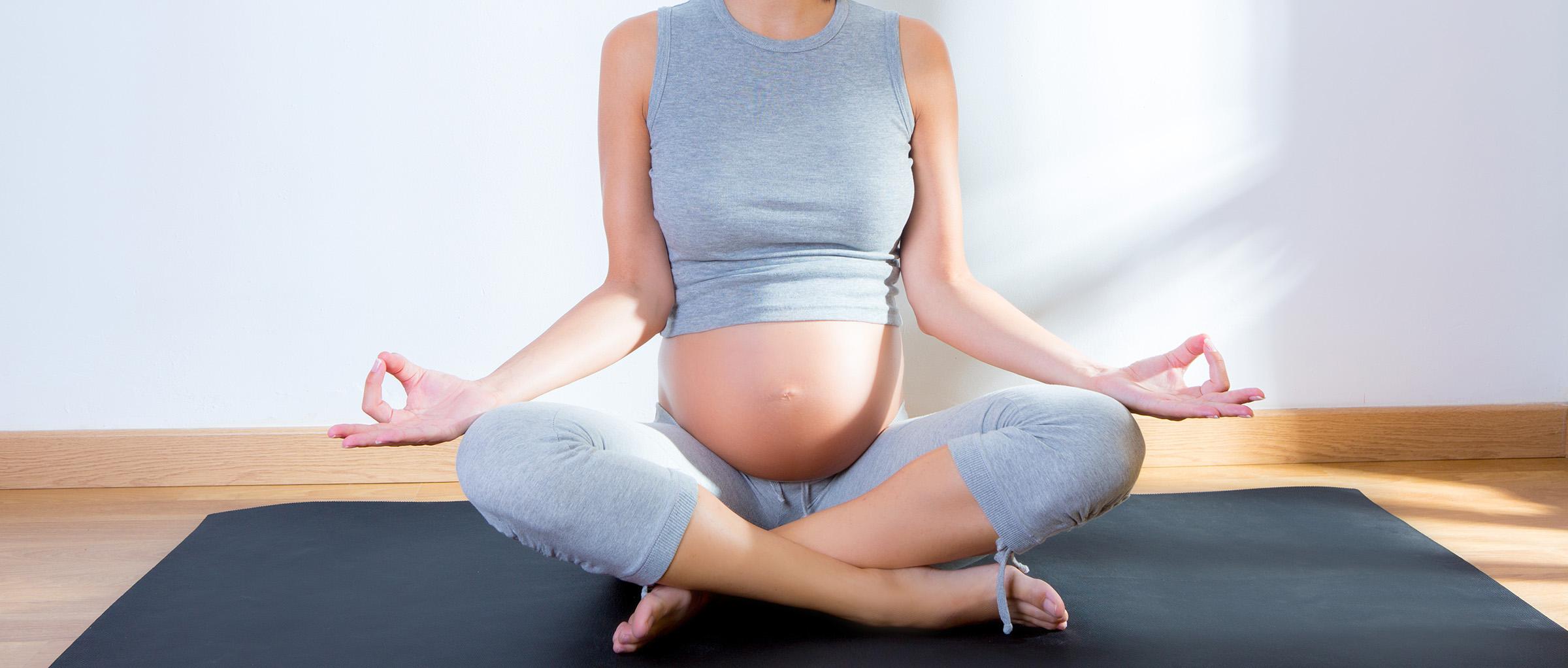 Yoga estando embarazada