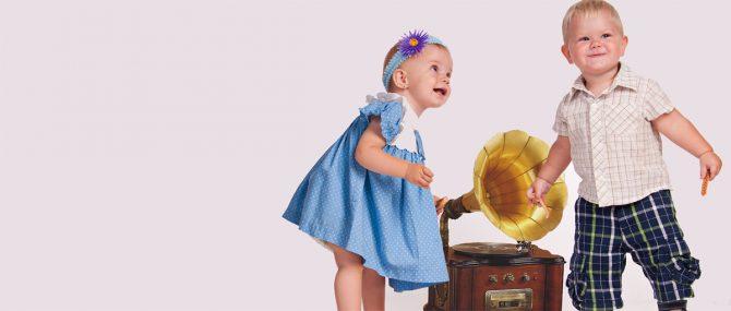 Imagen: La música clásica beneficia la inteligencia del bebé. Se ha demostrado con autores como Mozart.