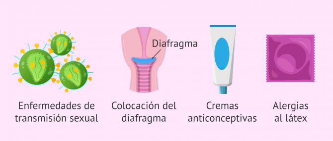 Imagen: Causas infecciosas y no infecciosas de la cervicitis