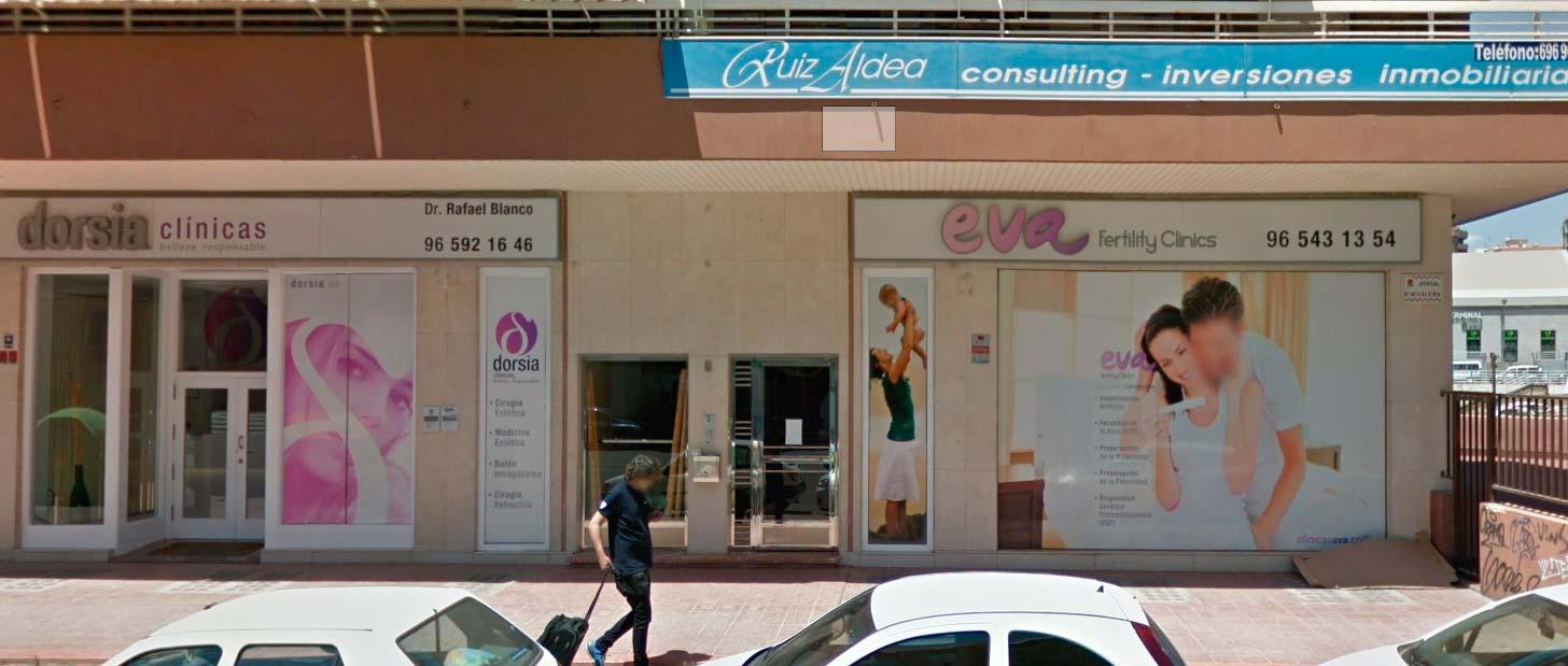 Clínica EVA Alicante Av. Aguilera