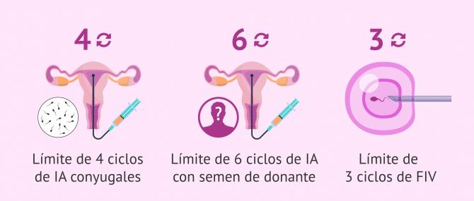 Imagen: Cobertura de tratamientos de reproducción asistida en la Seguridad Social
