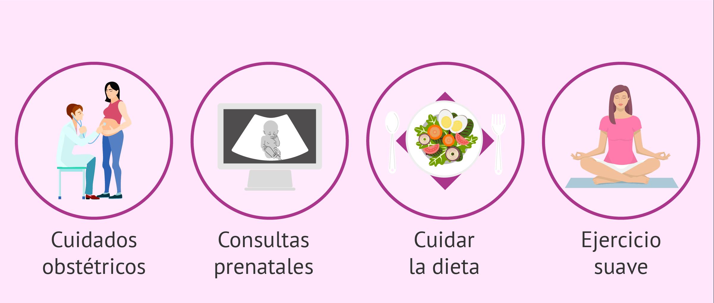 Cuidar la salud en el embarazo