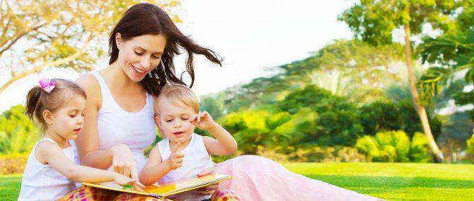 Imagen: Emplear cuentos para contarlo a los niños