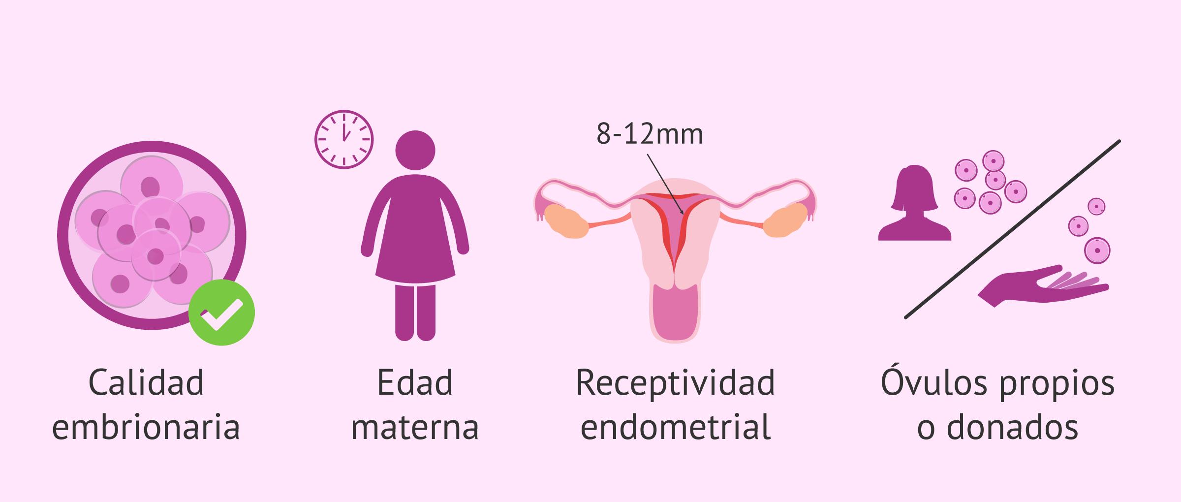 Criterios para seleccionar el número de embriones a transferir