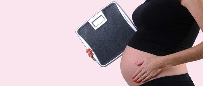 Imagen: Kilos de más en el embarazo