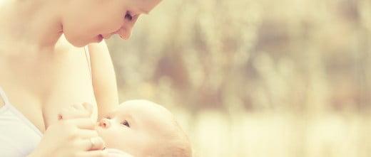 Amamantar el bebé