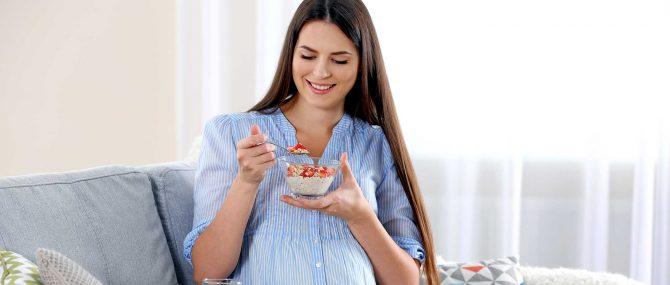 Imagen: ¿Qué alimentos debe tomar una mujer embarazada?