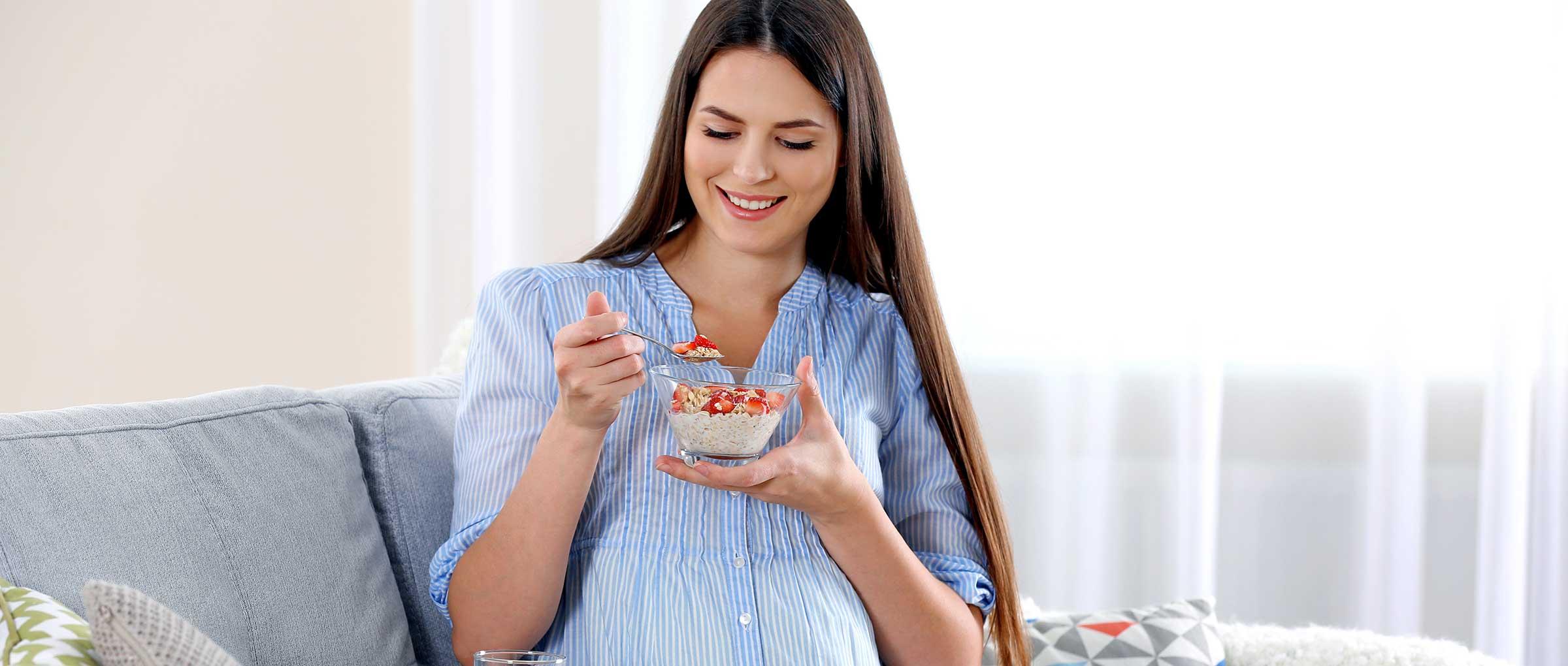 ¿Qué alimentos debe tomar una mujer embarazada?