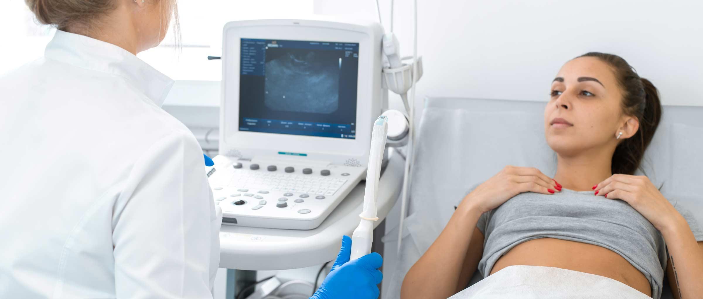 Diagnóstico de la mola hidatiforme: ecografía vaginal