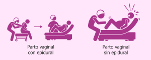 Madre y bebé tras un parto sin epidural