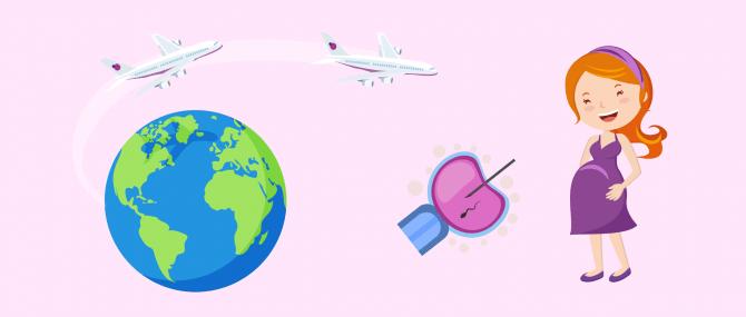 Turismo reproductivo para conseguir el embarazo
