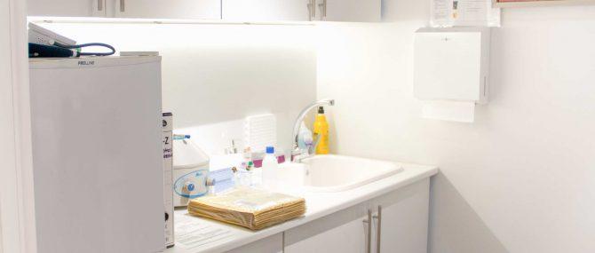 Imagen: Sala de enfermería de FIVIR