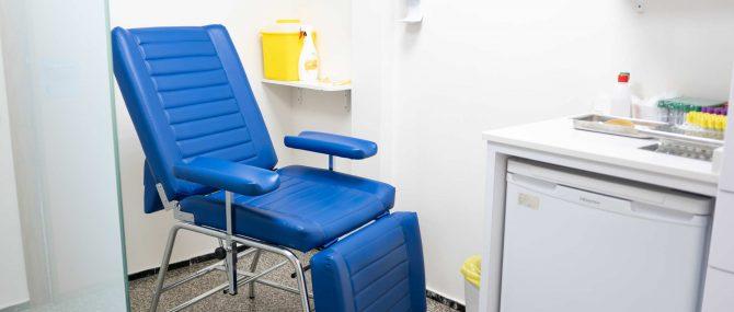 Imagen: Sala de enfermería Ginemed Valencia