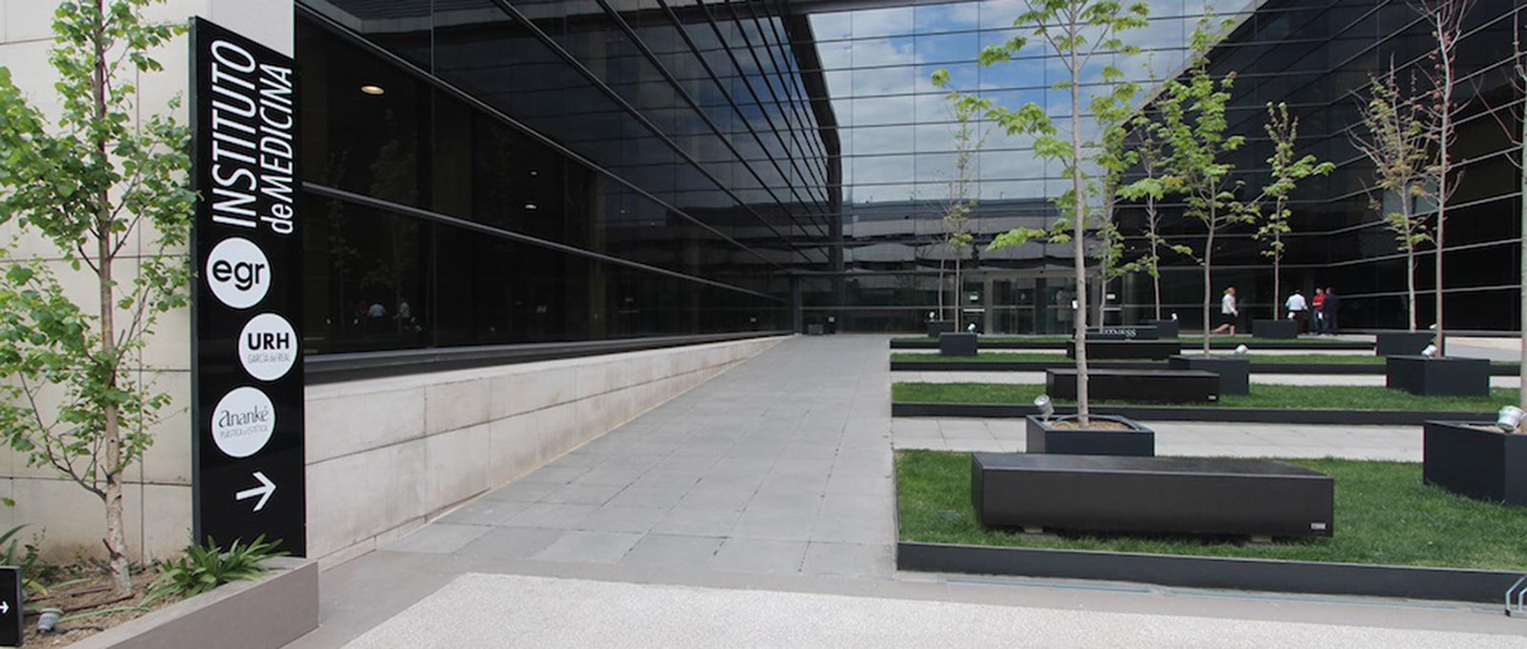Entrada a las instalaciones URH García del Real