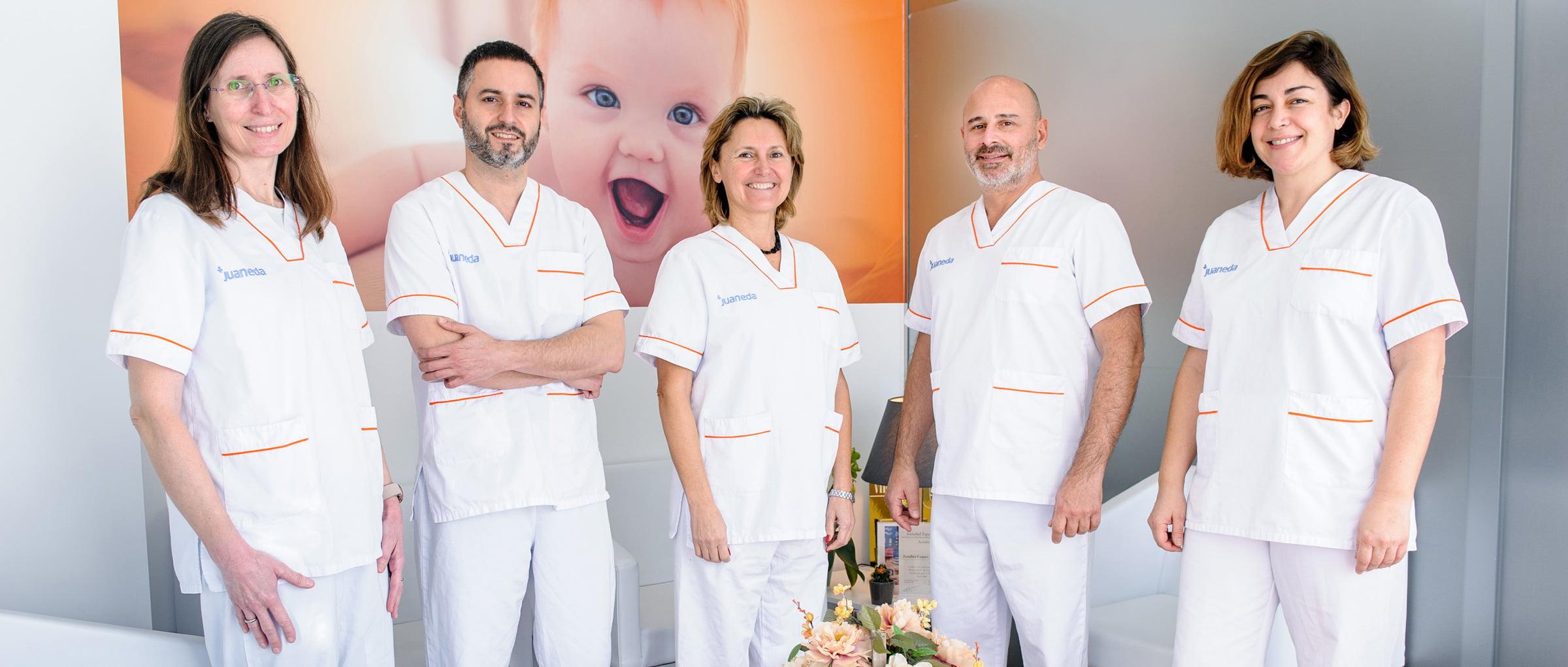 Equipo médico de Juaneda