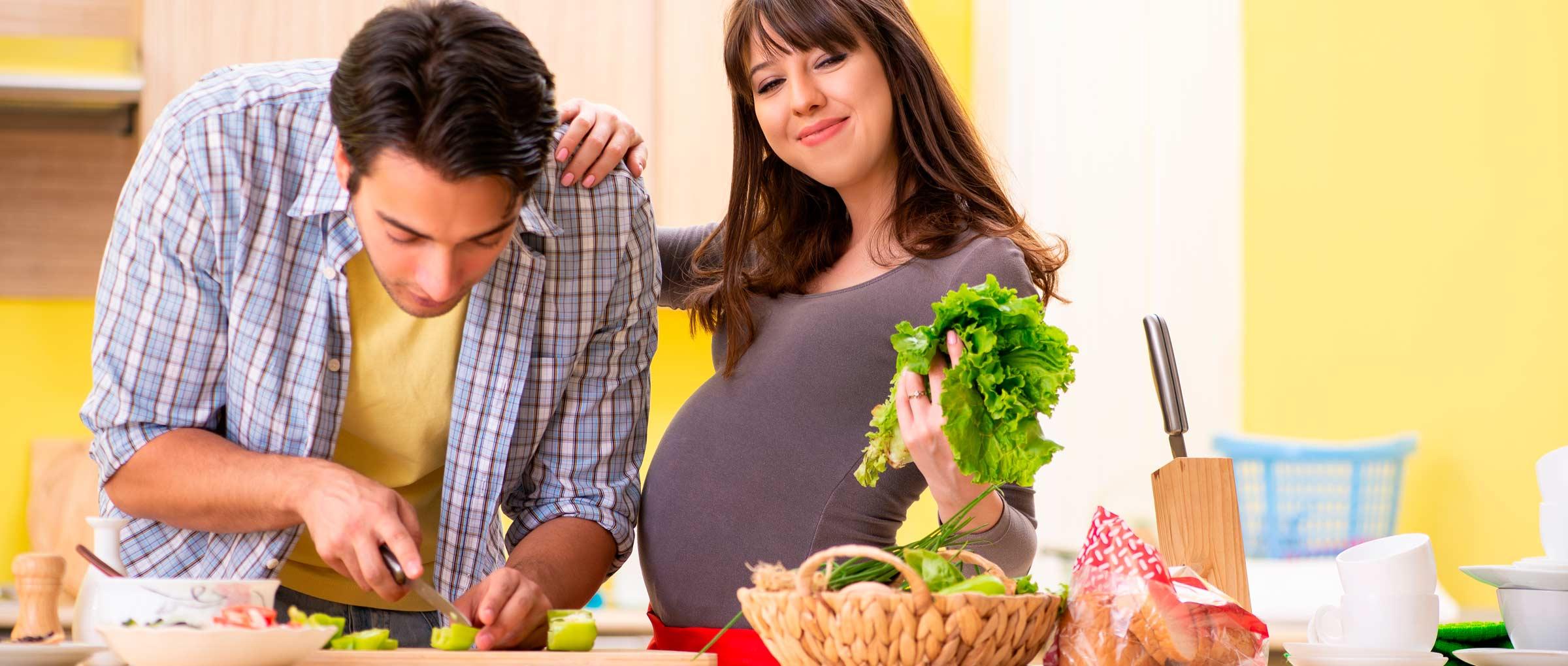 Estilo de vida sano en el embarazo