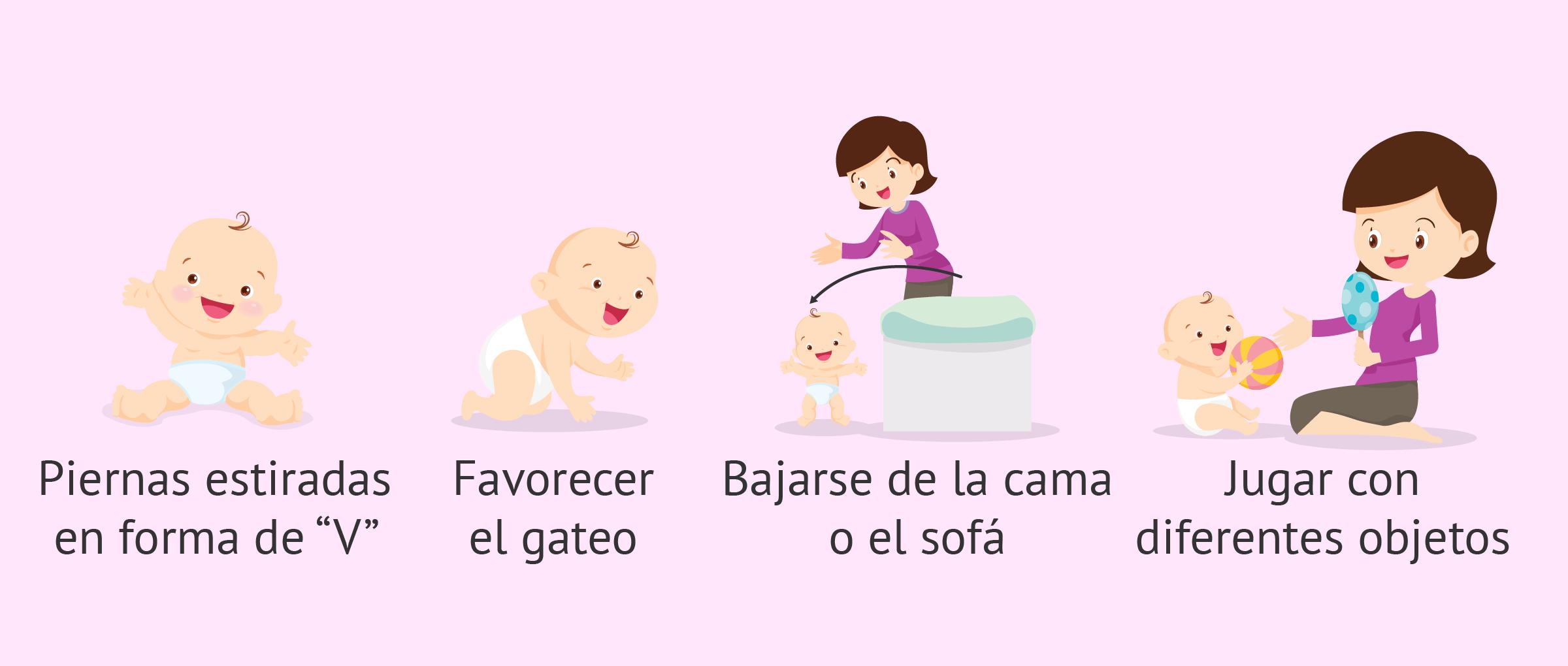 Ejercicios De Estimulación Temprana Para Bebés De 6 A 12 Meses