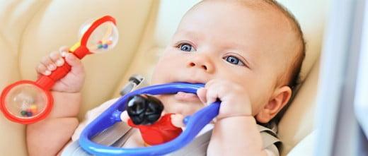 Es importante la estumulación emocional y cognitiva del feto y del recién nacido.
