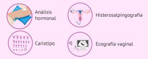 Mujer con problemas de esterilidad