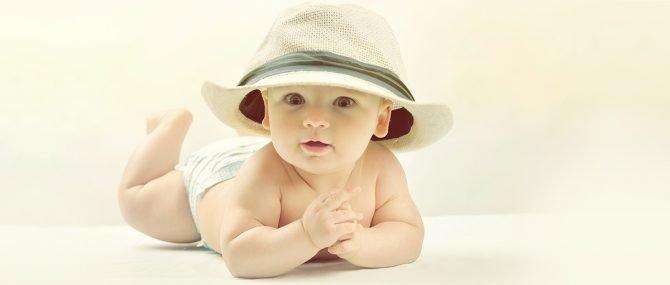 Imagen: Cuidar al bebé en verano.