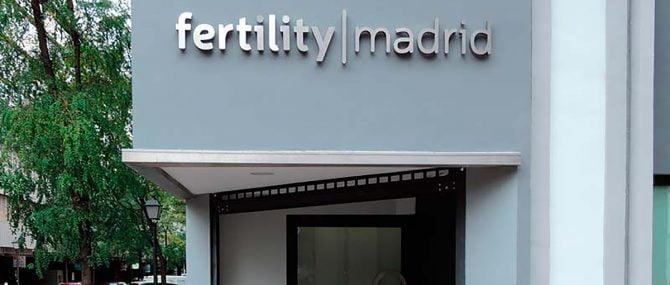 Fachada Fertility Madrid