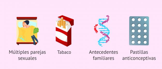 Imagen: ¿Existen factores de riesgo para el cáncer de cérvix?