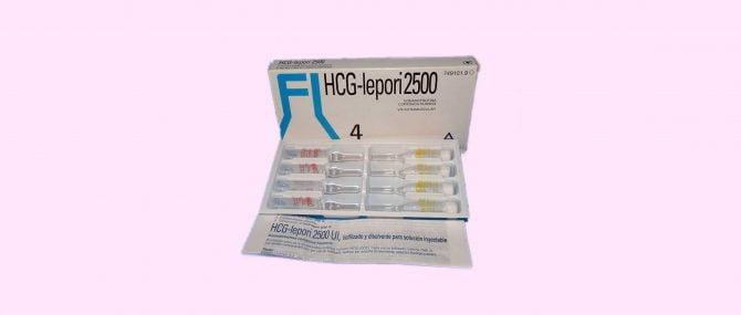 Imagen: Envase HCG lepori 2500