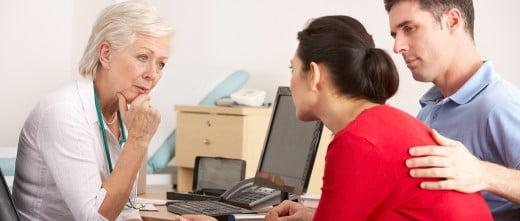 Perfil de la mujer de reproducción asistida