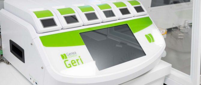 Imagen: Incubador Geri con tecnología Time-Lapse