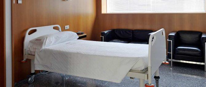 Habitación para pacientes y donantes