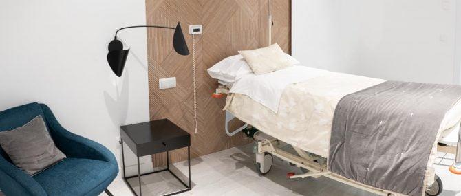 Imagen: Box de recuperación en Reproclinic