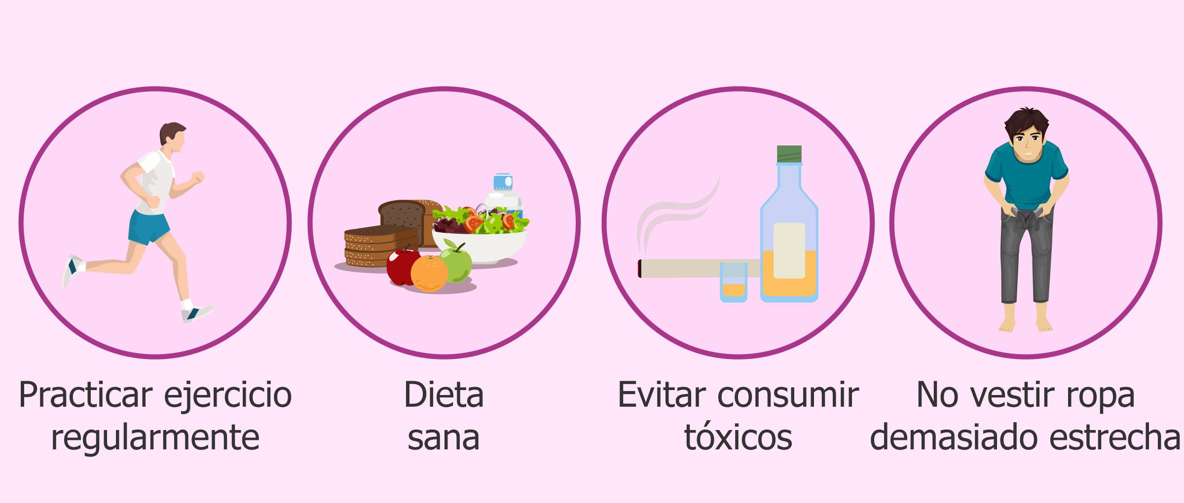 Hábitos de vida beneficiosos para mejorar la calidad seminal