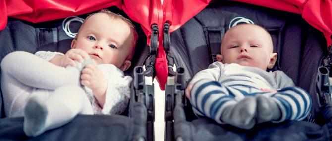 Imagen: Hermanos mellizos de diferente edad gestacional