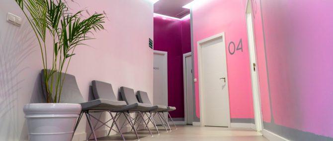 Imagen: Instalaciones de Ovoclinic Málaga