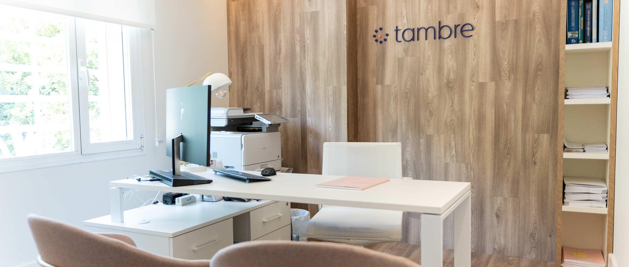 Consulta de la clínica Tambre