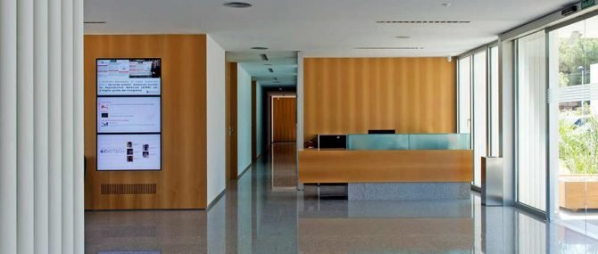 Interior Instituto Bernabeu Alicante