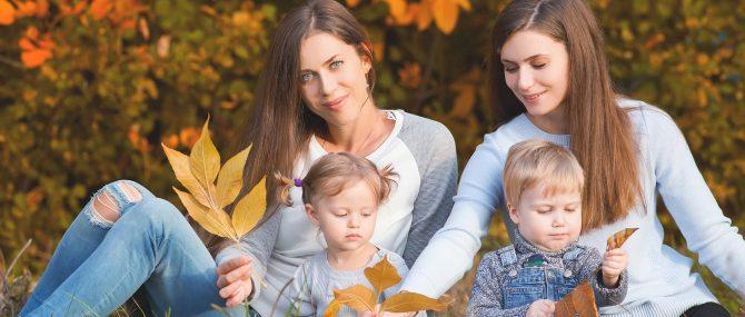 Imagen: La maternidad en parejas lesbianas