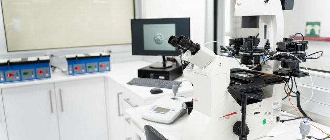 Imagen: Laboratorio FIV Ginemed Madrid