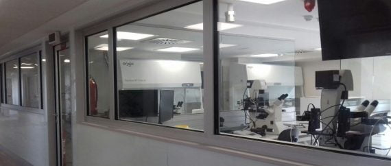 Laboratorio de Cristal ginemed