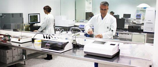 Laboratorio de Instituto Bernabeu
