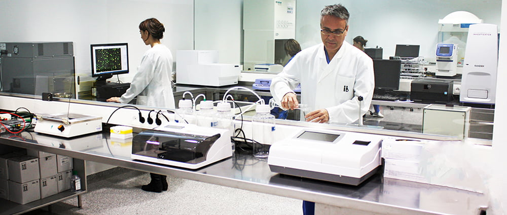 Laboratorio de Instituto Bernabeu