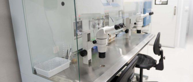 Imagen: Cabina de flujo laminar IVF Spain Madrid