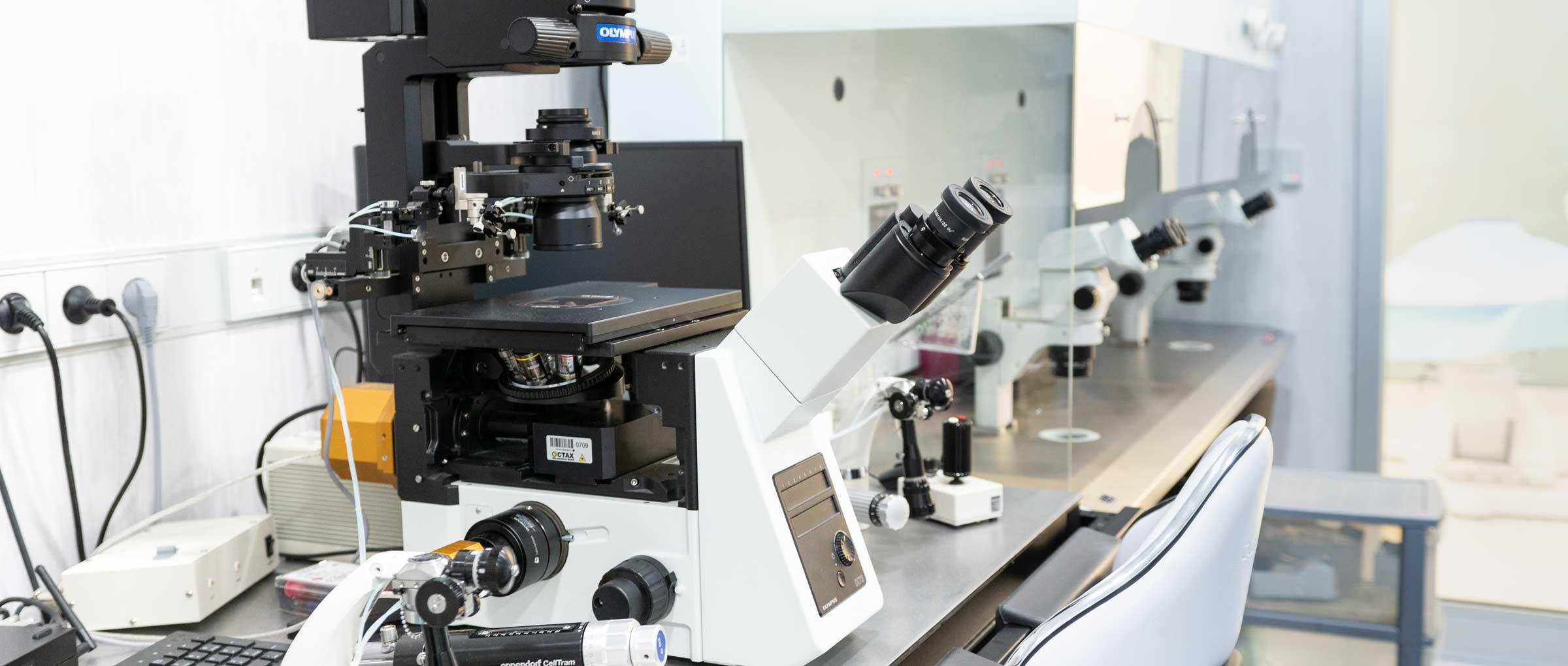 Laboratorio de Fertility Madrid