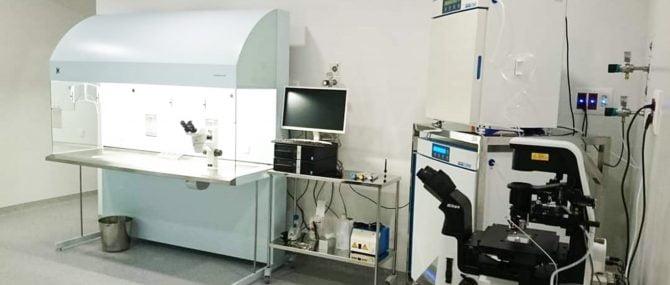 Imagen: Laboratorio de FIV en Jofrefiv