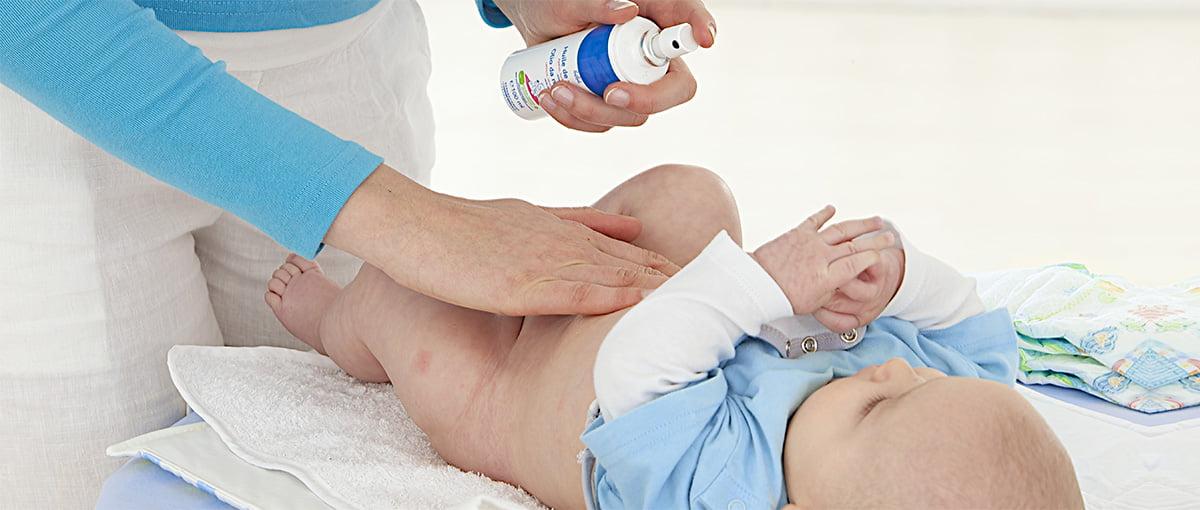 Lociones y cremas para el bebé