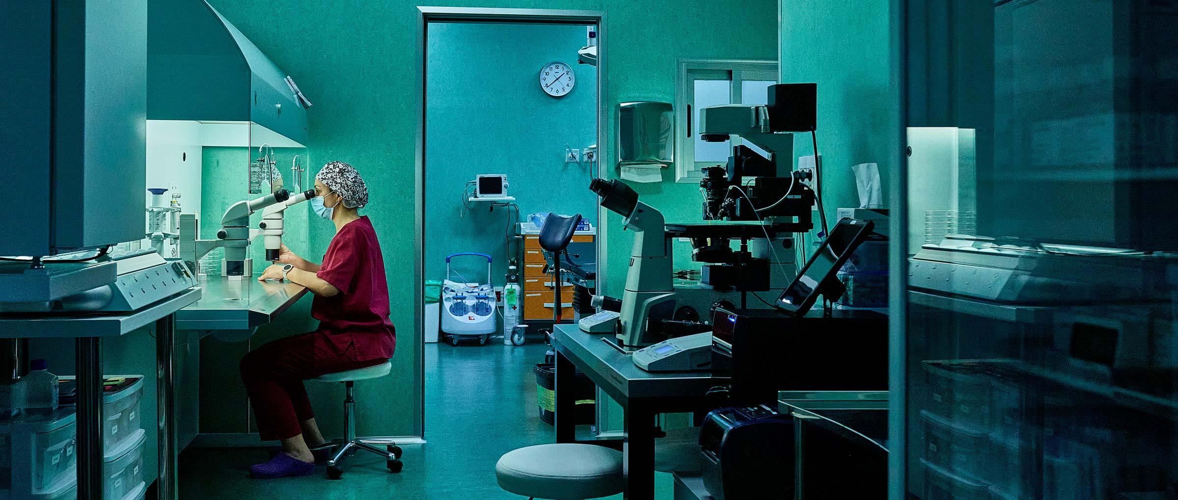 Laboratorio y quirófano de Love Fertility